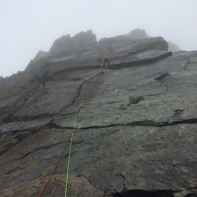 Andrew on the final slab